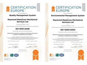 ISO certs rmms